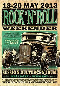 ROCK'N'ROLL WEEKENDER #skull
