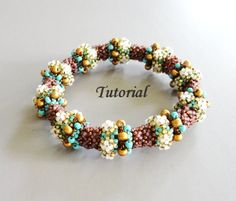 PDF for  beading pattern tutorial  btaceley by PeyoteBeadArt, $5.75