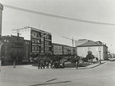 Panorâmica da antiga Praça do Município.