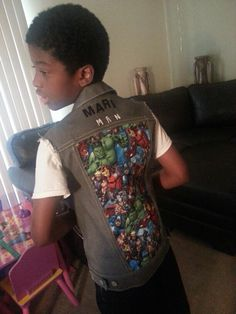 Vest for my son I did