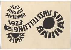 New York's Museum of Modern Art (MoMA) recently acquired 20 postcards created by Bauhaus teachers and students, to promote their first exhibit in This one is by Ludwig Hirschfeld-Mack. School Exhibition, Exhibition Poster, Walter Gropius, Postcard Art, Postcard Design, Kandinsky, Graphic Design Posters, Graphic Design Illustration, Graphic Illustrations