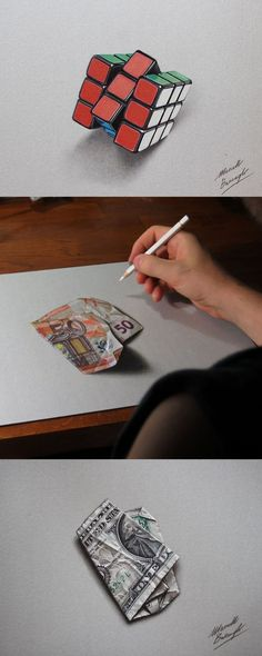 Incredible hyper-realistic drawings by Italian artist Marcello Barenghi: