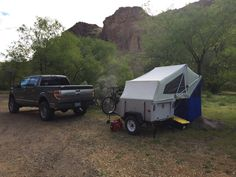 Steve out and about enjoying some Trailer Supported Adventuring with the Explorer Pod.  Here is build thread for those that would like to build their own; https://tventuring.com/trailerforum/thread-608.html .