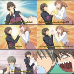 [[ Collage by @anime_obsession_ ]] Usagi, Misaki, and Aikawa
