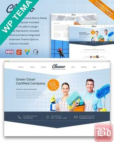 ThemeForest – Cleanco v1.4.4 – Cleaning Company WordPress Theme – 9460728