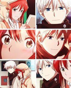 Akagami no Shirayukihime OVA Shirayuki and Zen #anime