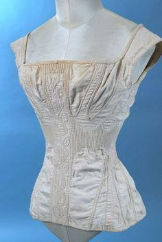 ca. 1820 Stays From pinterest.com:alisonkmore:corsets-stays-stomachers-petticoats-crinolines-oth: