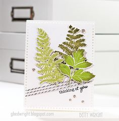 Thinking of You  Curtain Call Inspiration Challenge  Herb Garden PTI Papertrey cards