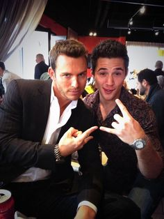 Eric Martsolf and Casey Moss