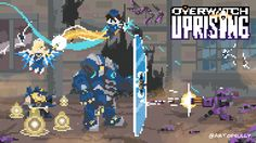 'Uprising' - Overwatch Pixel Animation by artofsully