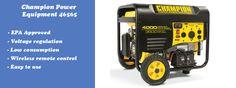 Champion Power Equipment 46565 Portable Generator Review