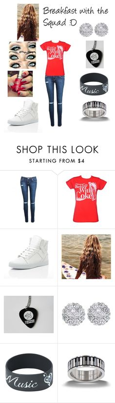 """Breakfast with the Squad xD"" by samanthamyers-i on Polyvore featuring Supra and Allurez"