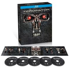 The Terminator Anthology - The Terminator / Terminator 2: Judgment Day / Terminator 3: Rise Of The Machines / Terminator Salvation (Blu-ray) (Widescreen)