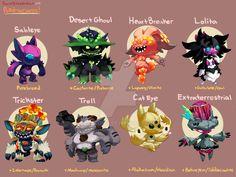 Pokemon Variations- Sableye by procon-8 on DeviantArt