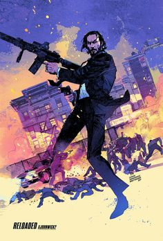 John Wick 2 - movie poster