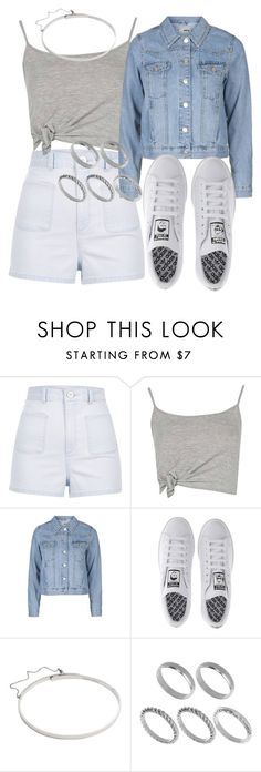 """Untitled #2044"" by mariandradde ❤ liked on Polyvore featuring River Island, Boohoo, Topshop, adidas, Eddie Borgo and ASOS"