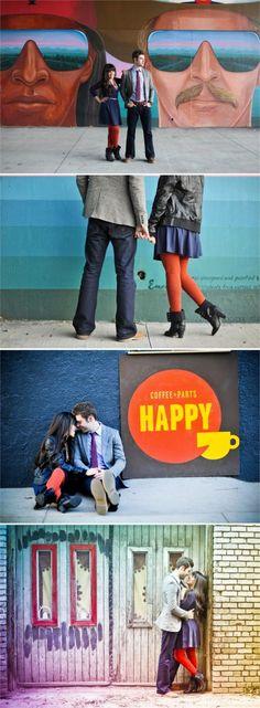 urban denver engagement session; love-n-joy photography