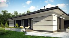 Can Am Landscaping Girard Il Buy Solar Panels, Solar Panel Cost, House Plans Mansion, New House Plans, House Cladding, Facade House, House Layout Plans, House Layouts, Bungalow House Design