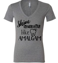 Dental shirt Dentist shirt shine bright like by TheTrendyTribe