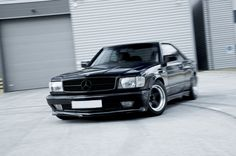 Mercedes W126 SEC coupe. Powerful, comfortable...what else does one need?