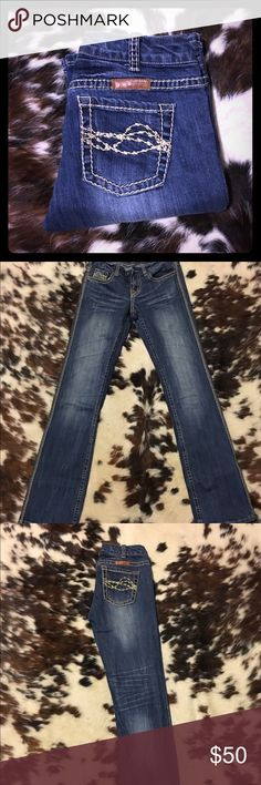 Cowgirl Tuff Jeans Cowgirl Tuff Jeans NWOT! Worn once! In excellent condition! Cowgirl Tuff Jeans Boot Cut