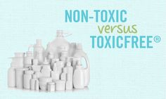 It is The Healthy Home Company mission to educate the public, here is another great resource on distinguishing Non-Toxic vs ToxicFree.  Click on the image to read on...