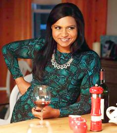 @Alexandra M What Wear - Mindy Kaling is as daring in her fashion choices as she is darling, and we love her love of prints: she's not afraid to mix and match or wear a pattern on the red carpet. We chose some of our favorite Kaling looks and quotes for inspiration—and paired them with tips on how to get her bright style!
