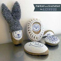 nice ideas for decorating rocks