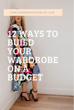 Build A Wardrobe, Capsule Wardrobe, Clothing Swap, Huge Sale, Consignment Shops, Band Tees, Personal Stylist, Styling Tips, Budgeting
