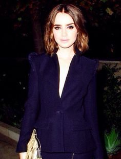Lily Collins attended the 2013 CFDA & Vogue Fashion Fund dinner