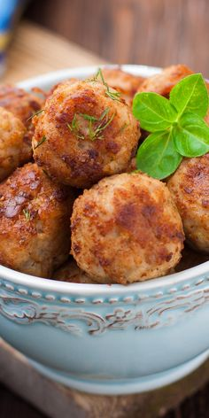 Meatball recipes for a healthier you - Transform the classic comfort food into a good-for-you meal with lighter ingredient swaps and nutritious pairings.