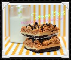 This took a lot of time to make, but they were so worth it! Tasted just like the my favorite Girlscout cookie's. Recipe from Hugs and Cookies XOXO Brownie Toppings, Cookie Brownie Bars, Yummy Treats, Delicious Desserts, Sweet Treats, Yummy Food, Samoa Cookies, Bar Cookies, Cookie Recipes