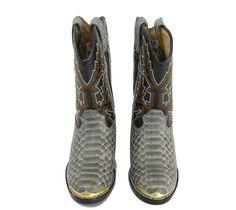 7129696ebe0 Durango Youth Western Cowboy Boots Size 9.5 Snake Print Boy or Girl   Durango  Boots