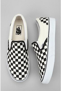 Vans Slip Ons (I began to wear my old slip ons again, reminds me of my emo/scene phase haha)