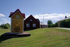 Old the well. Kristiinankaupunki, Ostrobothnia province of Western Finland.- Pohjanmaa - Österbotten