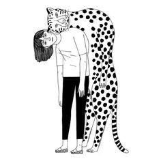 De vuelta con una ración de ilustraciones en blanco y negro   Amelie Fontaine, France   #MariaVictrix