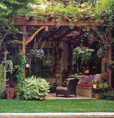 Amazing Modern Pergola Patio Ideas for Minimalist House. Many good homes of classical, modern, and minimalist designs add a modern pergola patio or canopy to beautify the home. In addition to the installa. Backyard Patio, Backyard Landscaping, Pergola Patio, Wooden Pergola, Wisteria Pergola, Corner Pergola, Backyard Shade, Backyard Seating, Patio Wall