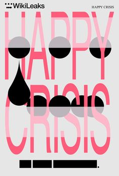 mthvn:    invisiblesounds:    via Metahaven    Metahaven. Happy Crisis, screenprint, 2011