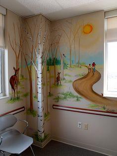 "www.JMS-ART.com  Pediatric Practice ""The Park"" Exam Room - View #1 by jms artist, via Flickr"