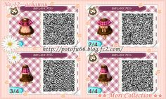Animal Crossing New Leaf QR codes from the Mori Collection