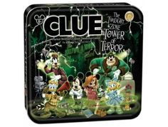 CLUE®: Disney Tower of Terror (Disney Theme Parks Exclusive) | USAopoly