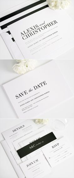 Urban glamour wedding invitations from Shine Wedding Invitations: http://www.shineweddinginvitations.com/wedding-invitations/urban-glamour-wedding-invitations