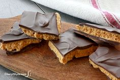 Buckeye bark recipe—chocolate and peanut butter don't get any better than this!