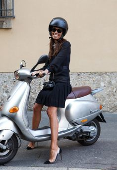my own personal goal...ride a vespa in heels