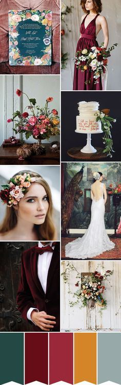 A Dutch Masters Inspired Wedding - a gorgeous look to consider for Autumn/Winter weddings with its opulent styling and gorgeous jewel tones...
