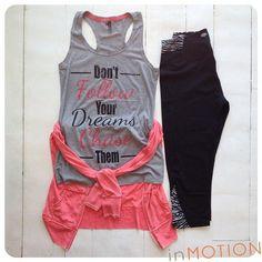 Cute Workout Clothes www.facebook.com/HealthyFitandWise