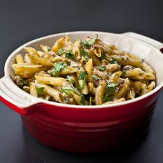 Eggplant is sautéed in olive oil until it's creamy soft and then tossed with pasta and cheese. A quick stint under the broiler melts the fontina and ...