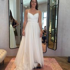 BHLDN Rosalind Gown in  Bride   BHLDN