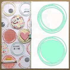 sketchy circles - free cut file by Nicole Nowosad - Scrapbook And Cards Today Mag Silhouette Cameo Free, Silhouette Images, Silhouette Portrait, Silhouette Cameo Projects, Silhouette Machine, Silhouette Files, Silhouette Design, Brother Plotter, Free Svg