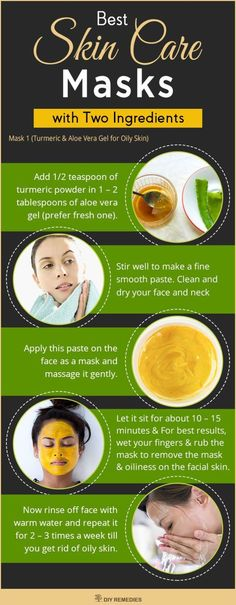 The best DIY projects & DIY ideas and tutorials: sewing, paper craft, DIY. Natural & DIY Skin Care : Turmeric and Aloe Vera Gel for Oily Skin Oily skin is generally caused due to over active sebaceous glands that produce more of Aloe Vera For Skin, Aloe Vera Gel, Face Scrub Homemade, Homemade Face Masks, Skin Care Masks, Diy Skin Care, Organic Skin Care, Natural Skin Care, Natural Oils